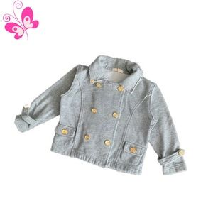 Toddler Gray Coat